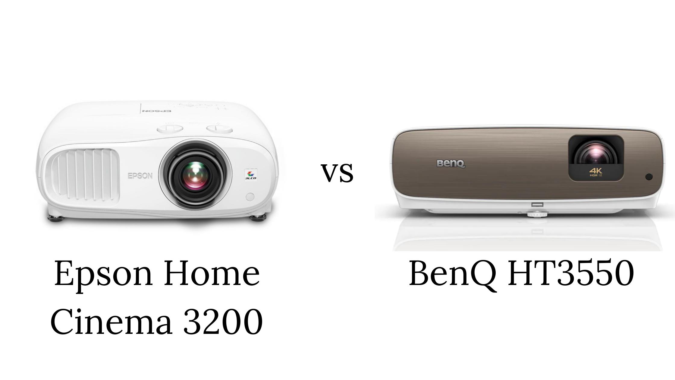 Epson 3200 vs BenQ HT3550