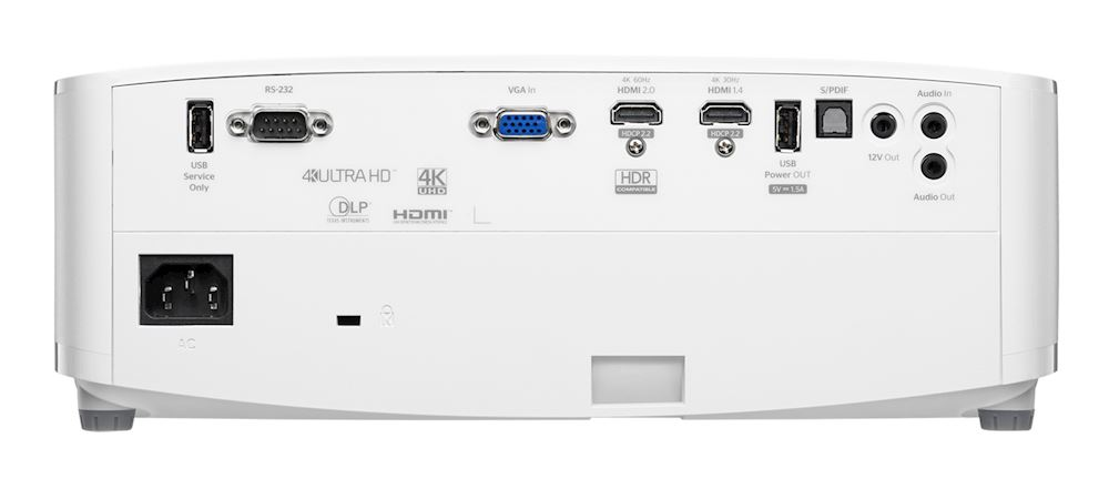 optoma uhd50x ports